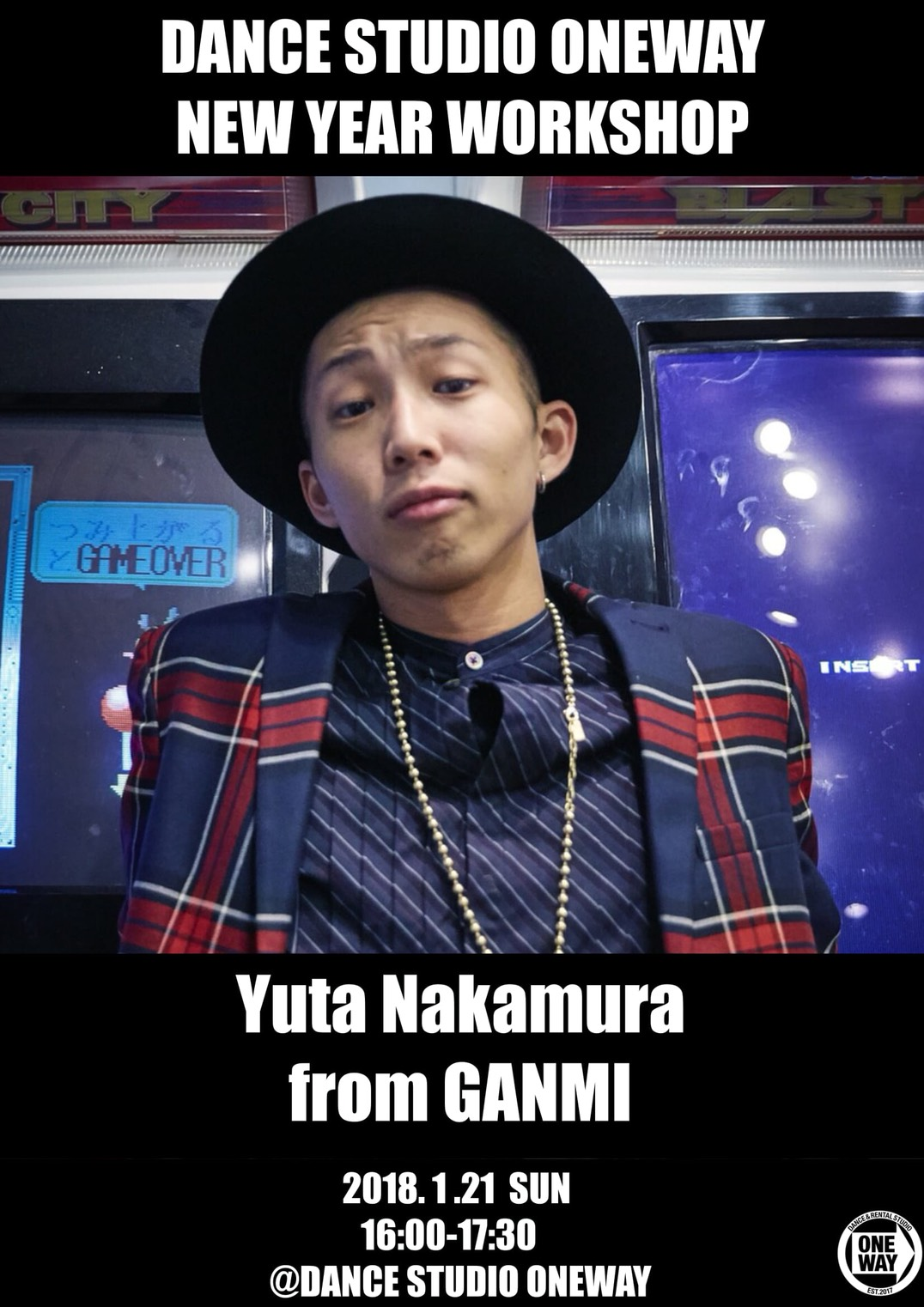 Yuta Nakamura from GANMI New Year Work Shop
